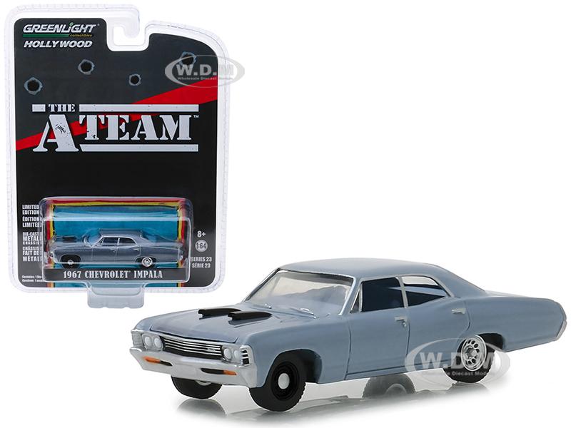 1967 Chevrolet Impala Silver Blue