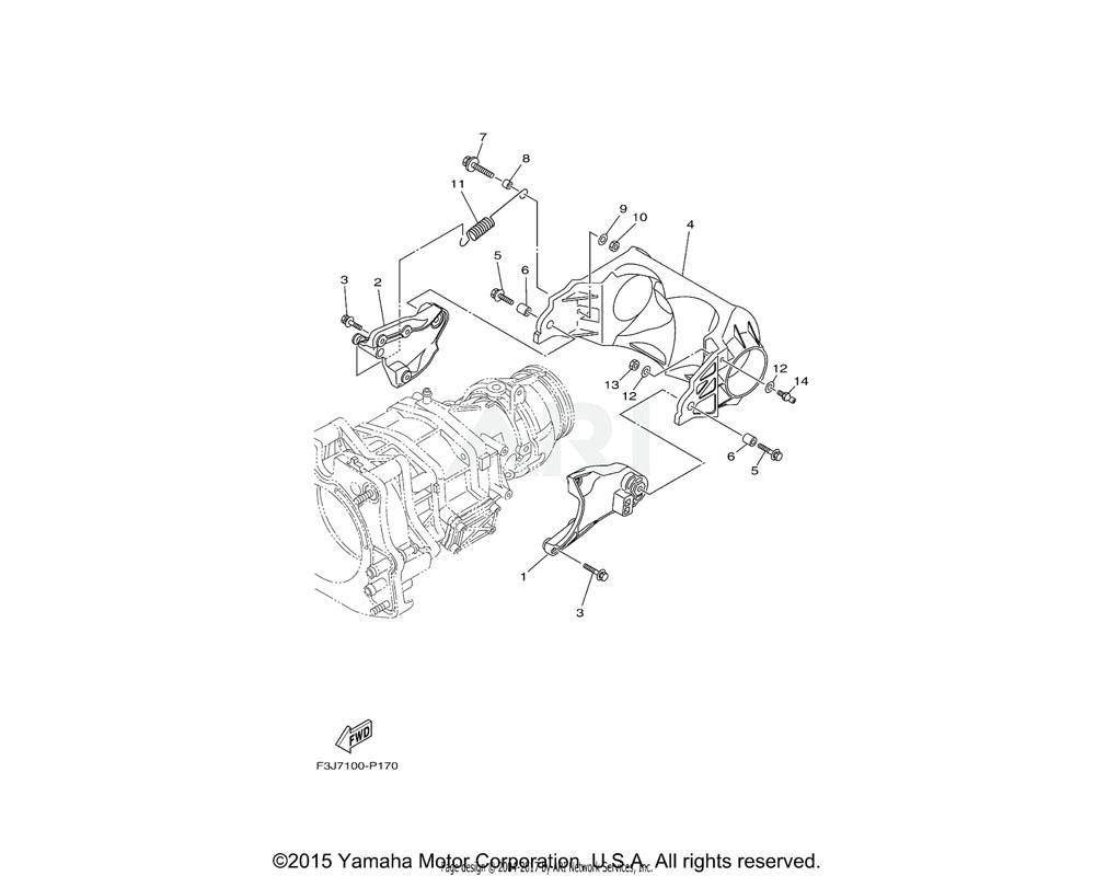 Yamaha OEM 90119-069UX-00 BOLT, WITH WASHER