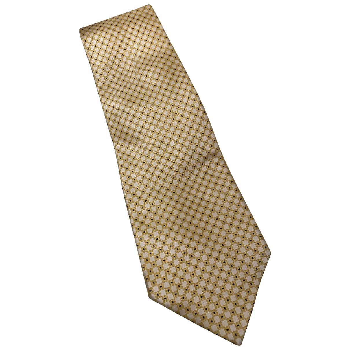 Stefano Ricci - Cravates   pour homme en soie - dore