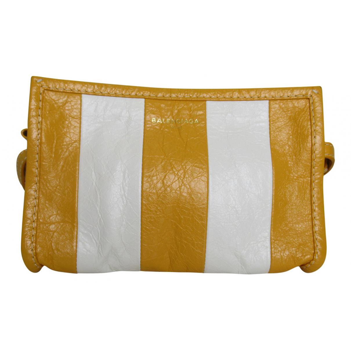 Balenciaga Bazar Bag Multicolour Leather Clutch bag for Women N