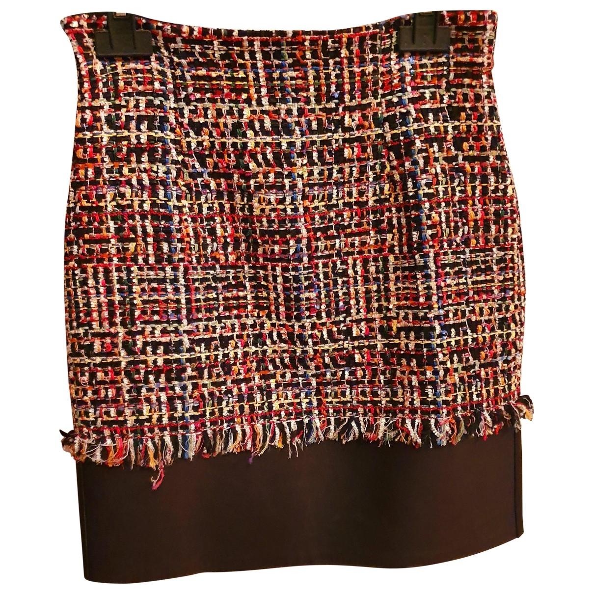 Mini falda Tweed Alexander Mcqueen