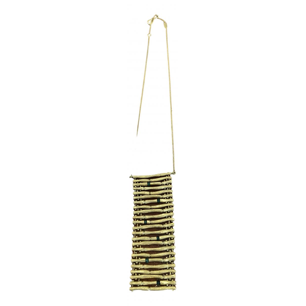 Collar Bamboo de Oro amarillo Gucci