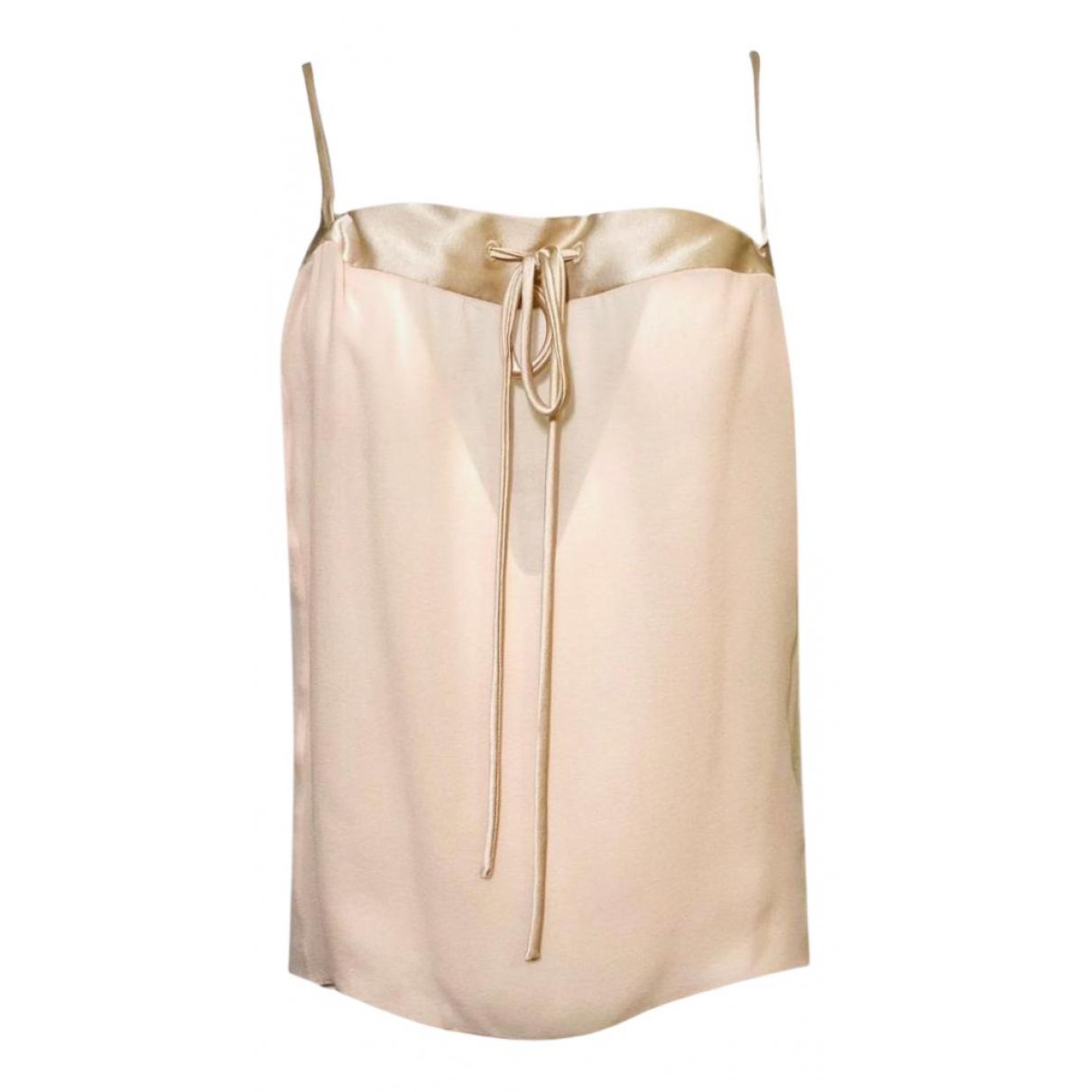 Tom Ford N Beige Silk  top for Women 38 IT
