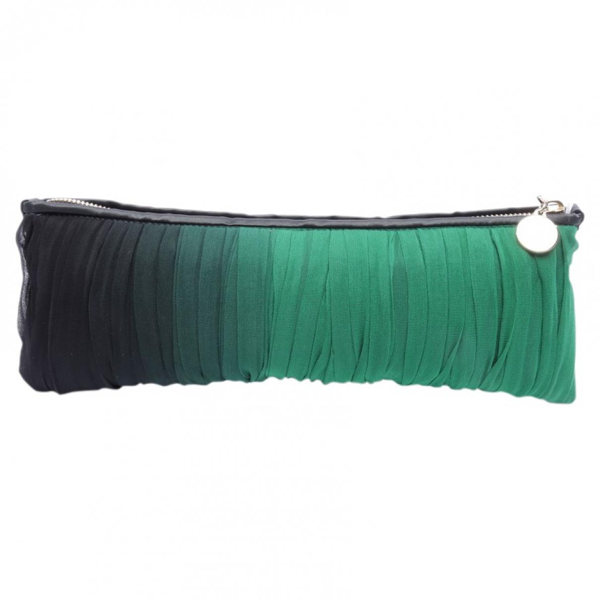 Stella Mccartney N Green Leather Clutch bag for Women N