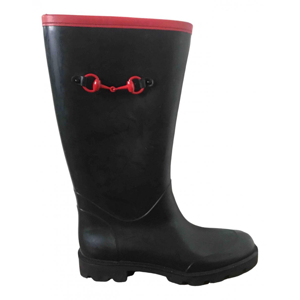 Gucci \N Black Rubber Boots for Women 39 EU