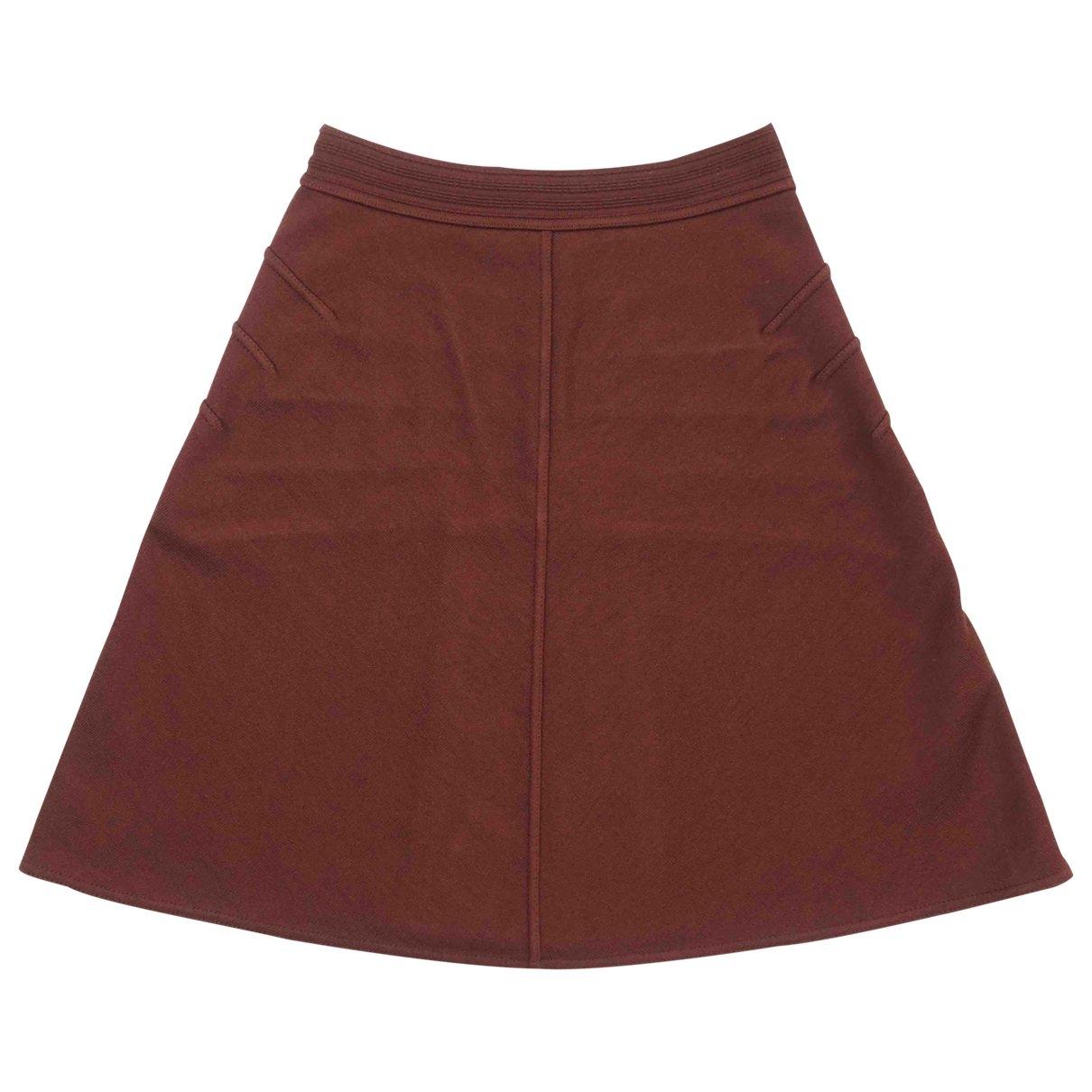 Alaïa \N Brown Wool skirt for Women S International