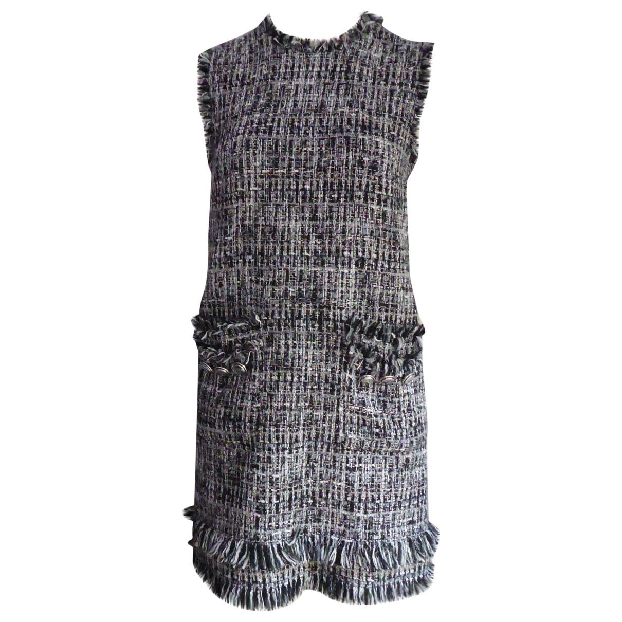 Msgm \N Kleid in  Bunt Synthetik