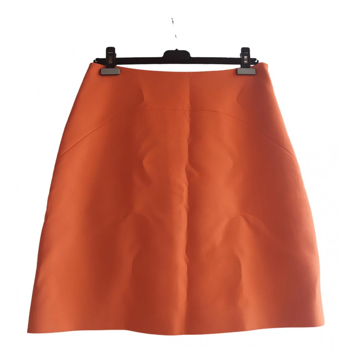 Prada \N Rocke in  Orange Wolle