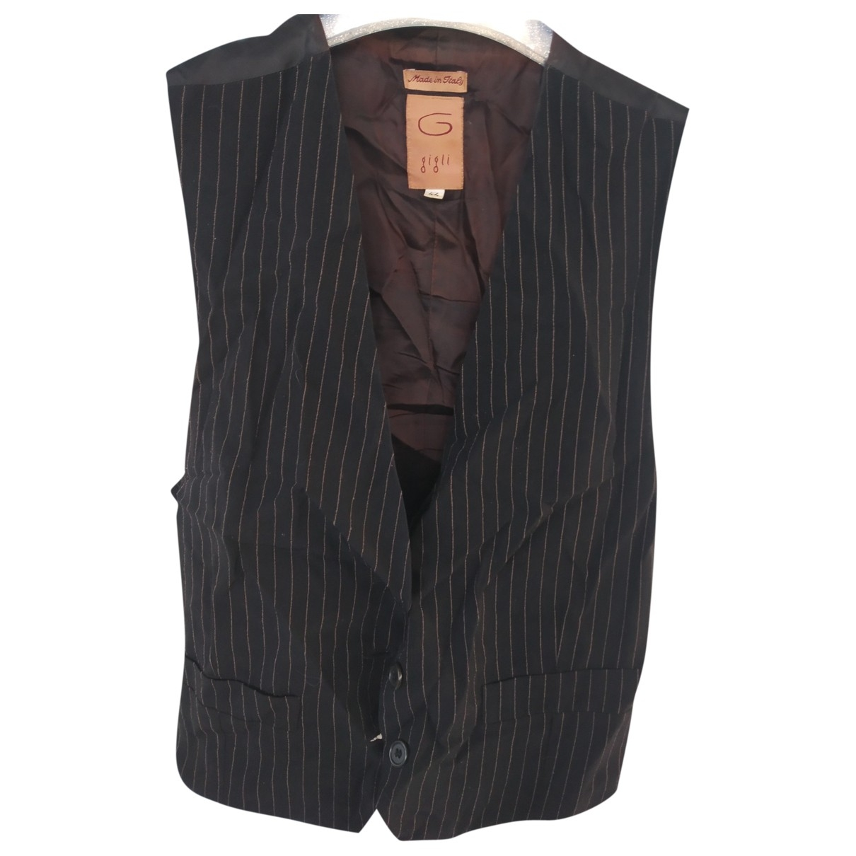 Romeo Gigli \N Black Wool Knitwear for Women 44 IT