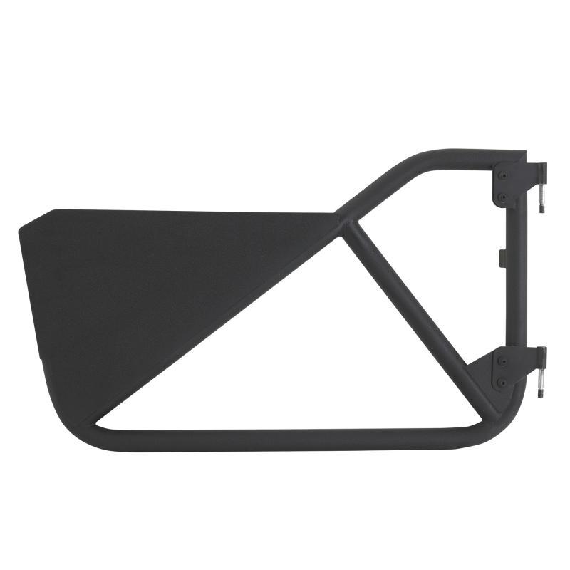 SRC Tubular Doors Rear 97-06 Wrangler TL/LJ Black Textured SmittyBilt 76793