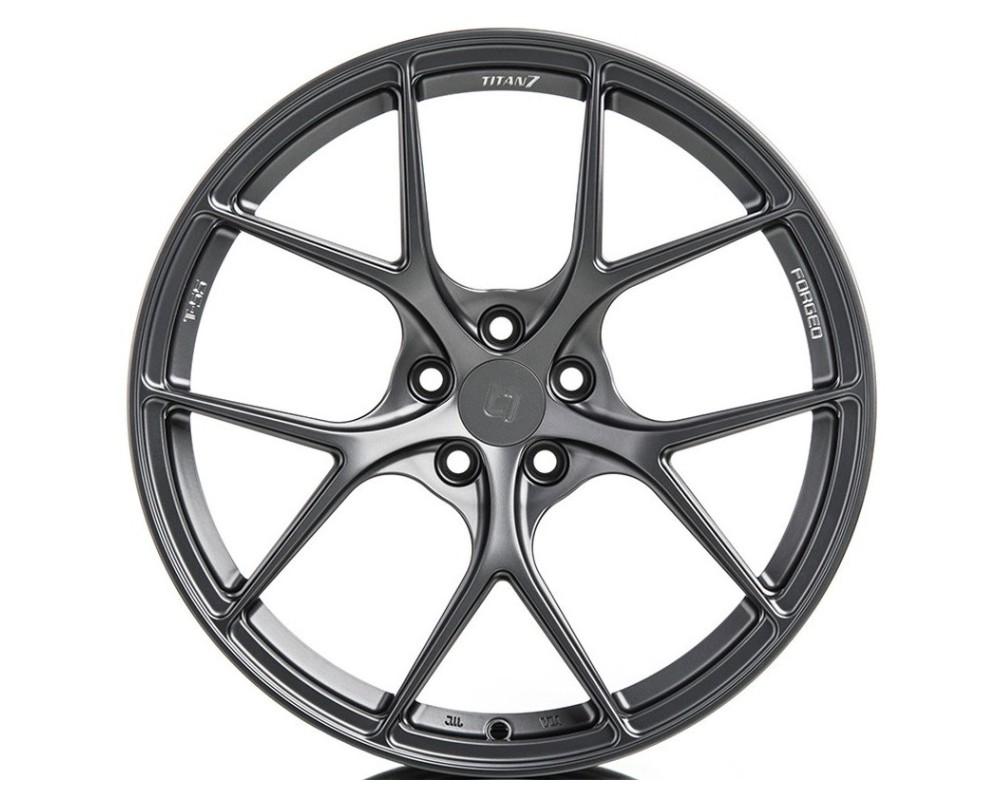 Titan 7 TS502010024512067ST T-S5 Wheel 20x10 5x120 24mm Satin Titanium