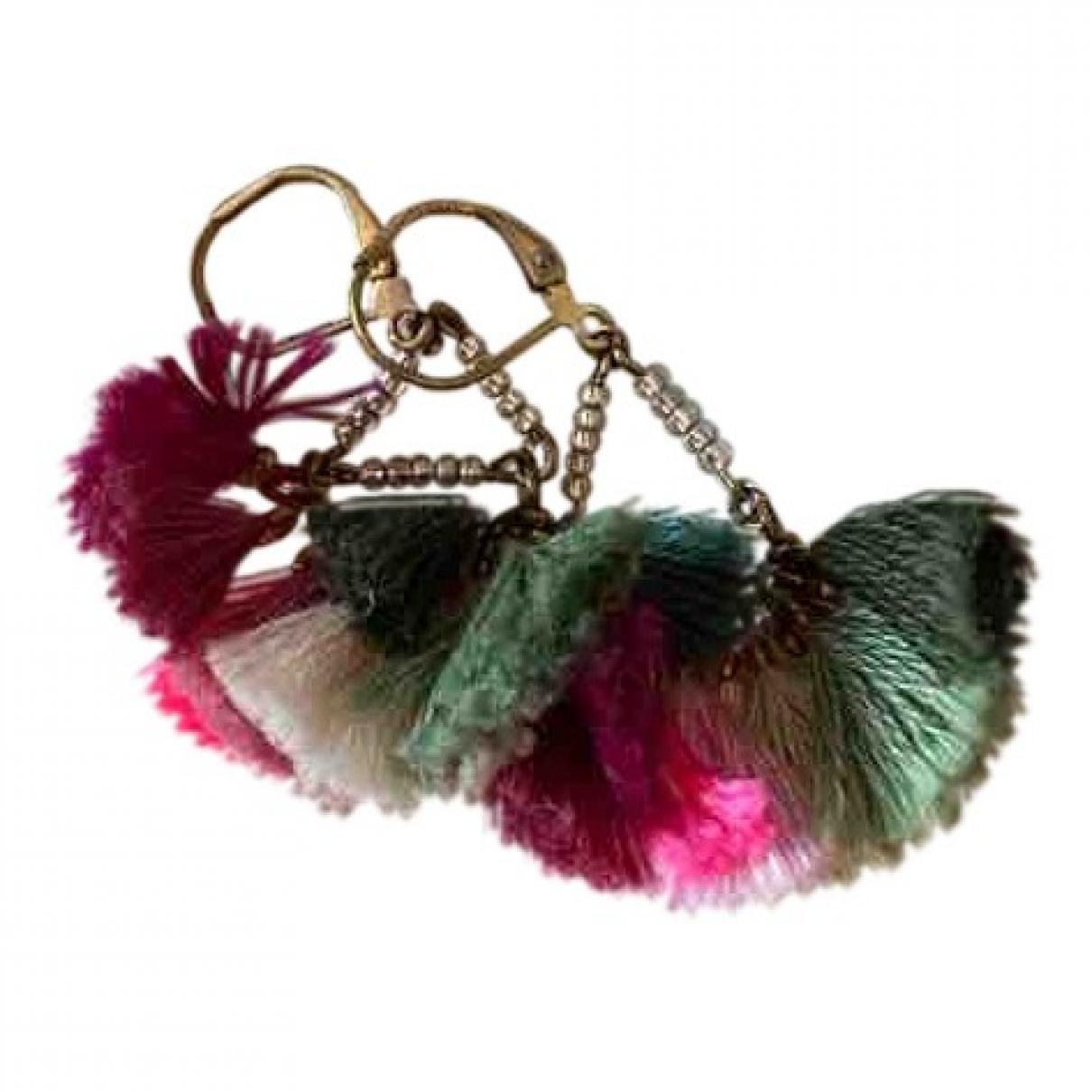Masscob - Boucles doreilles   pour femme en metal - multicolore