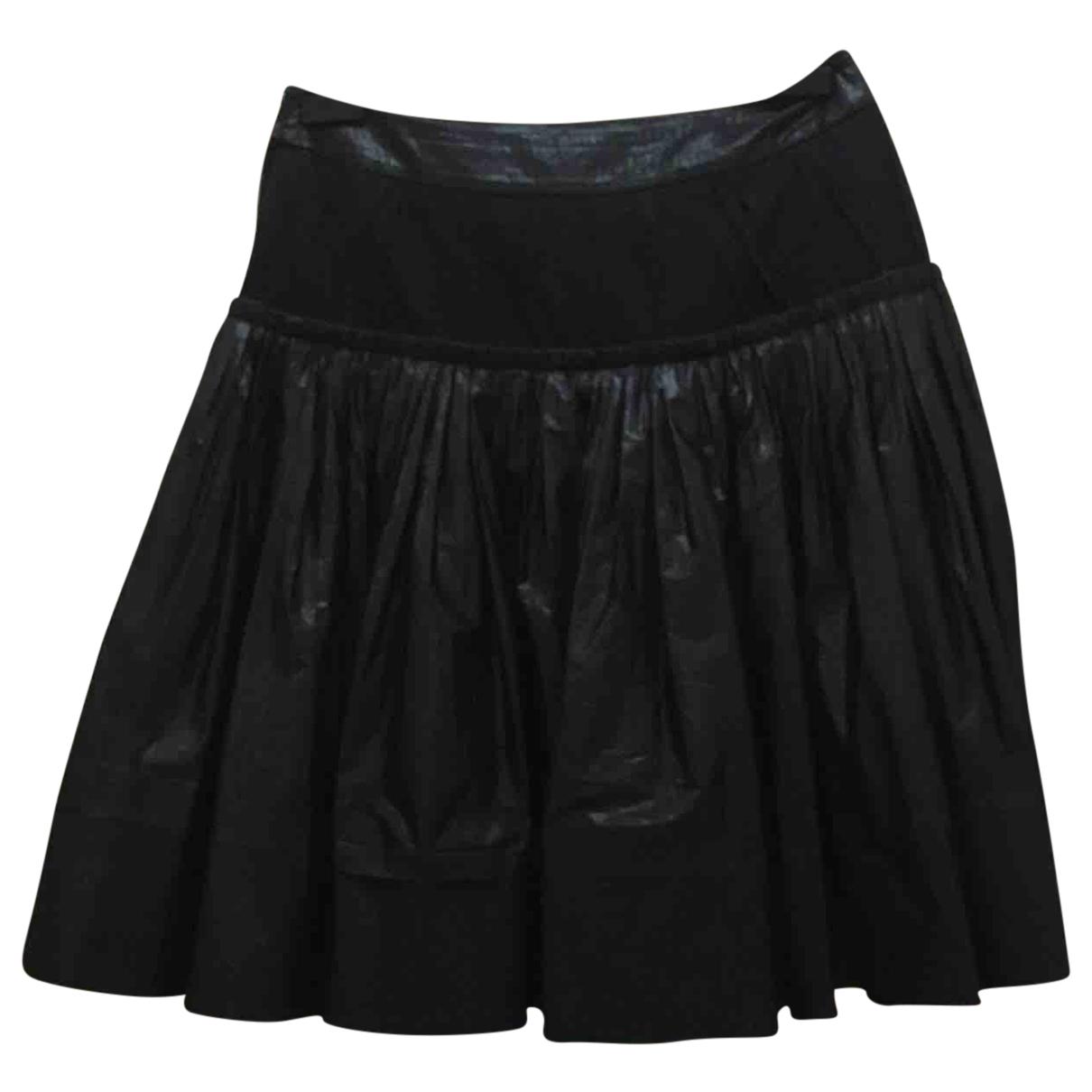 Louis Vuitton - Jupe   pour femme en soie - noir