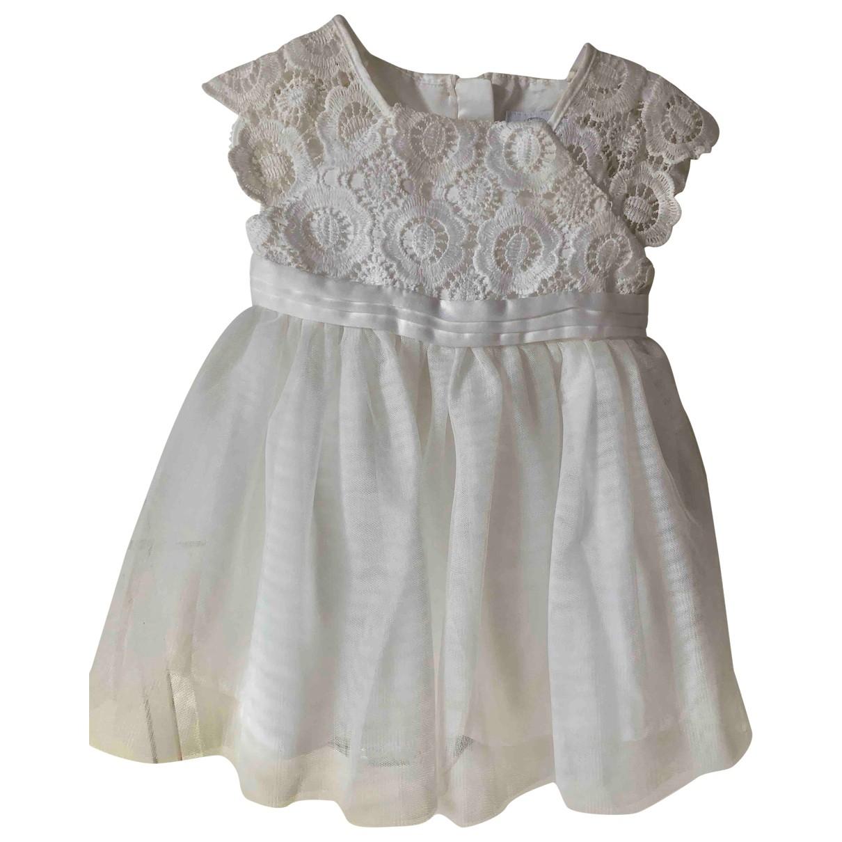 - Robe    pour enfant - blanc