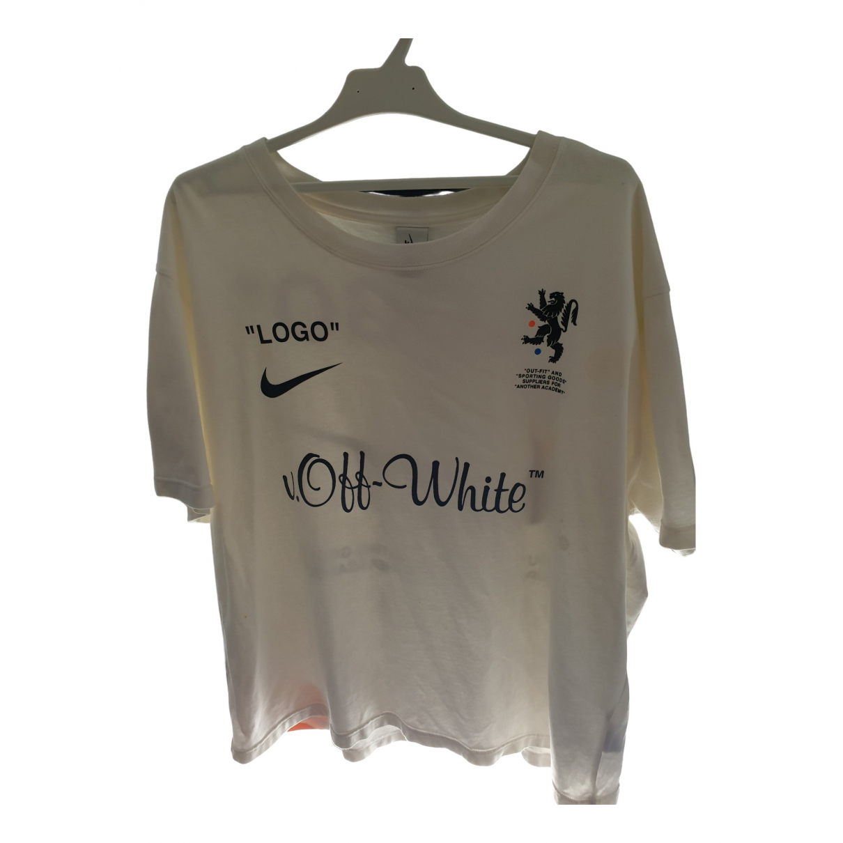 Nike X Off-white \N T-Shirts in  Weiss Baumwolle