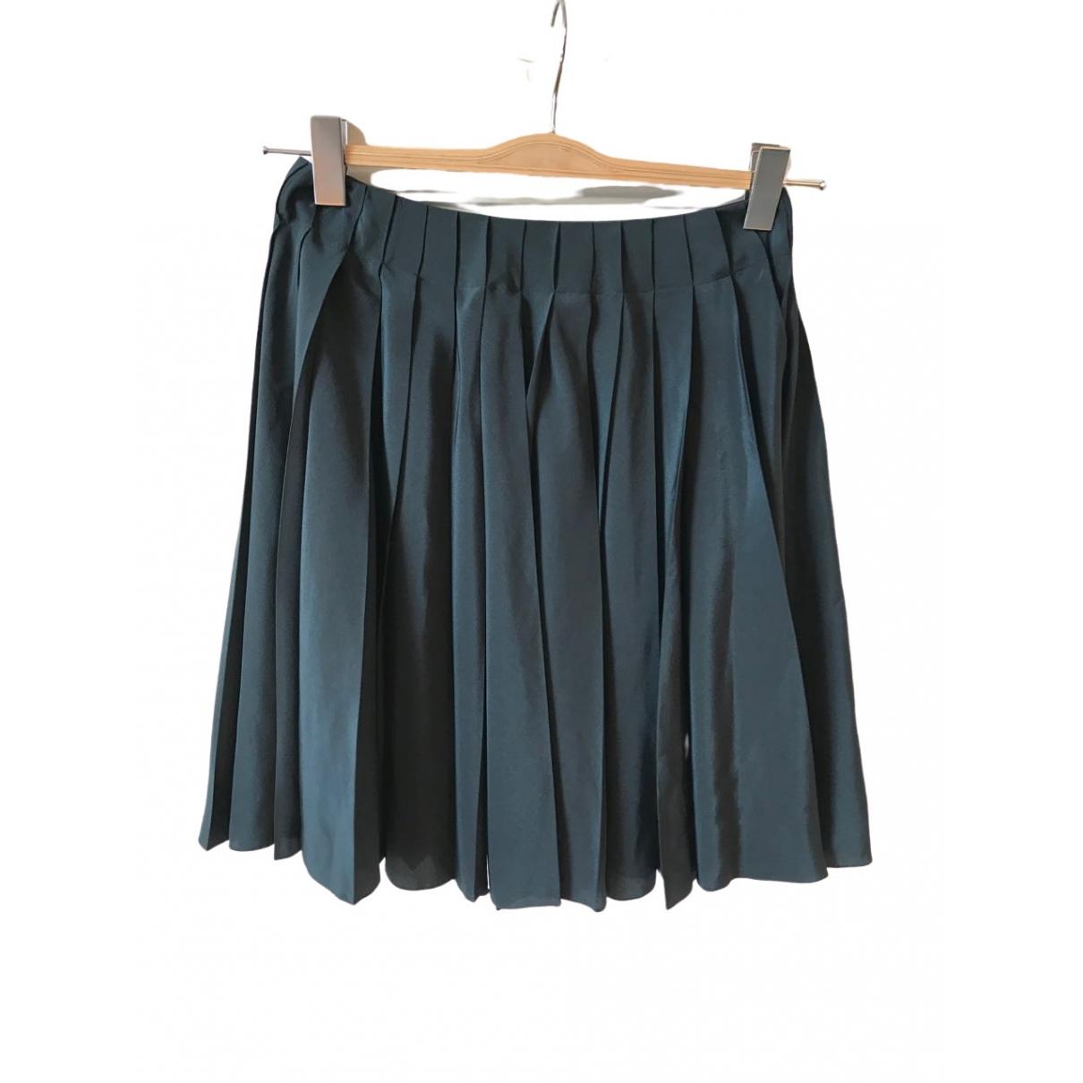 Dior - Jupe   pour femme en soie - vert