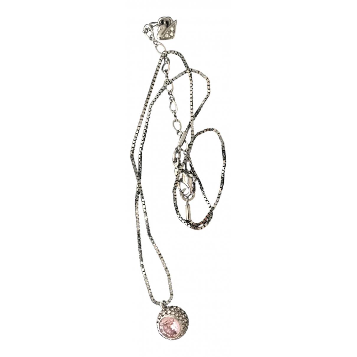 Swarovski \N Halskette in  Silber Metall
