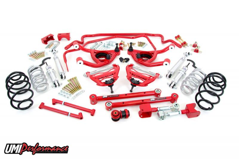 UMI Performance ABF407-64-2-R 1964 GM A-Body Handling Kit- Stage 4, 2