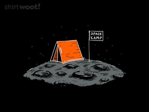 Space Camping T Shirt
