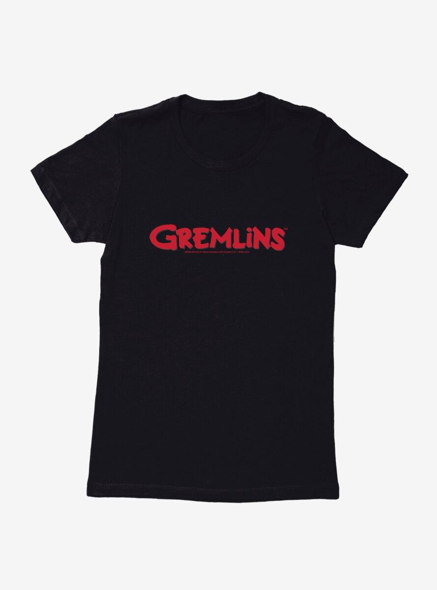 Gremlins Movie Title Womens T-Shirt