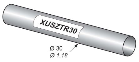 Telemecanique Sensors XUSZTR30 Test Rod, For Use With Type 2 Safety Light Curtains, Type 4 Safety Light Curtains