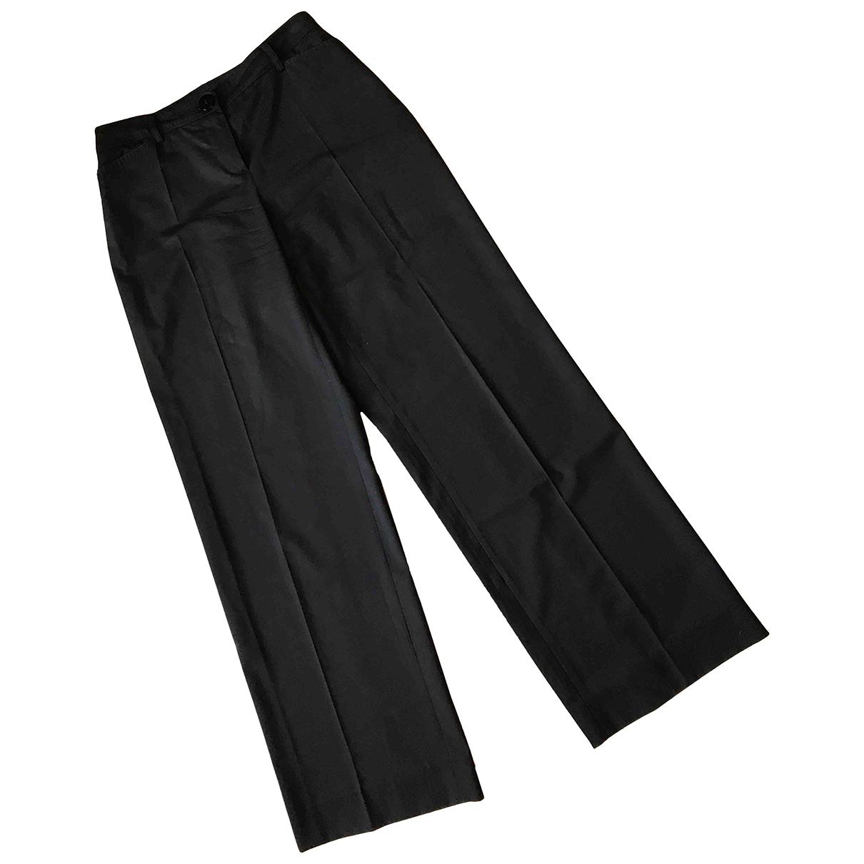 Pantalon de traje de Lana Emporio Armani