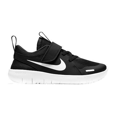 Nike Flex Contact 4 Little Kids Boys Running Shoes, 12 Medium, Black