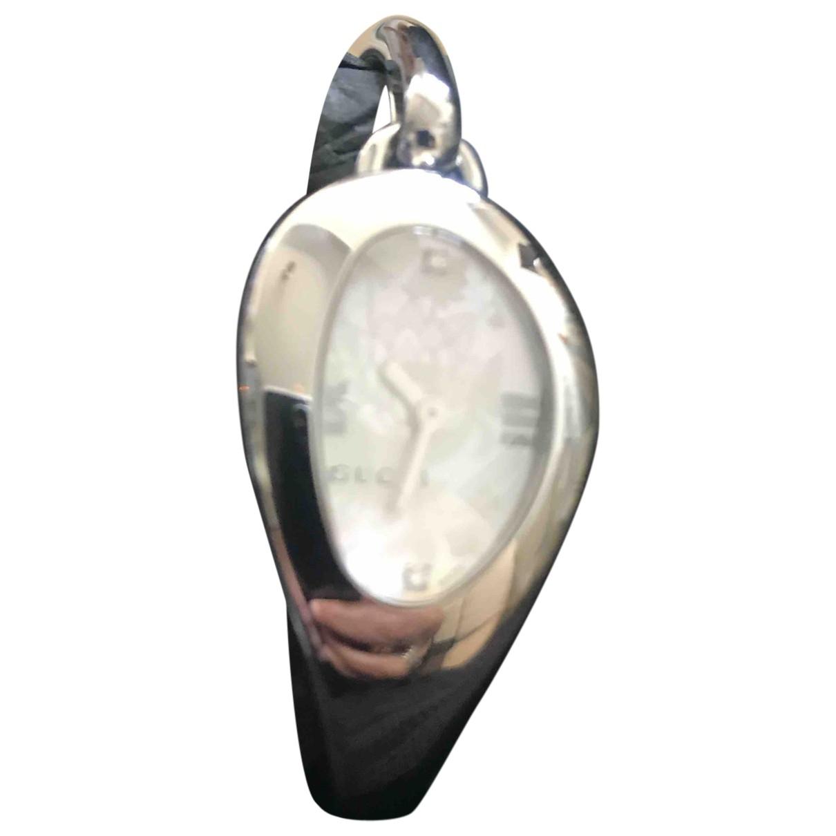 Gucci Horsebit Silver Steel watch for Women \N