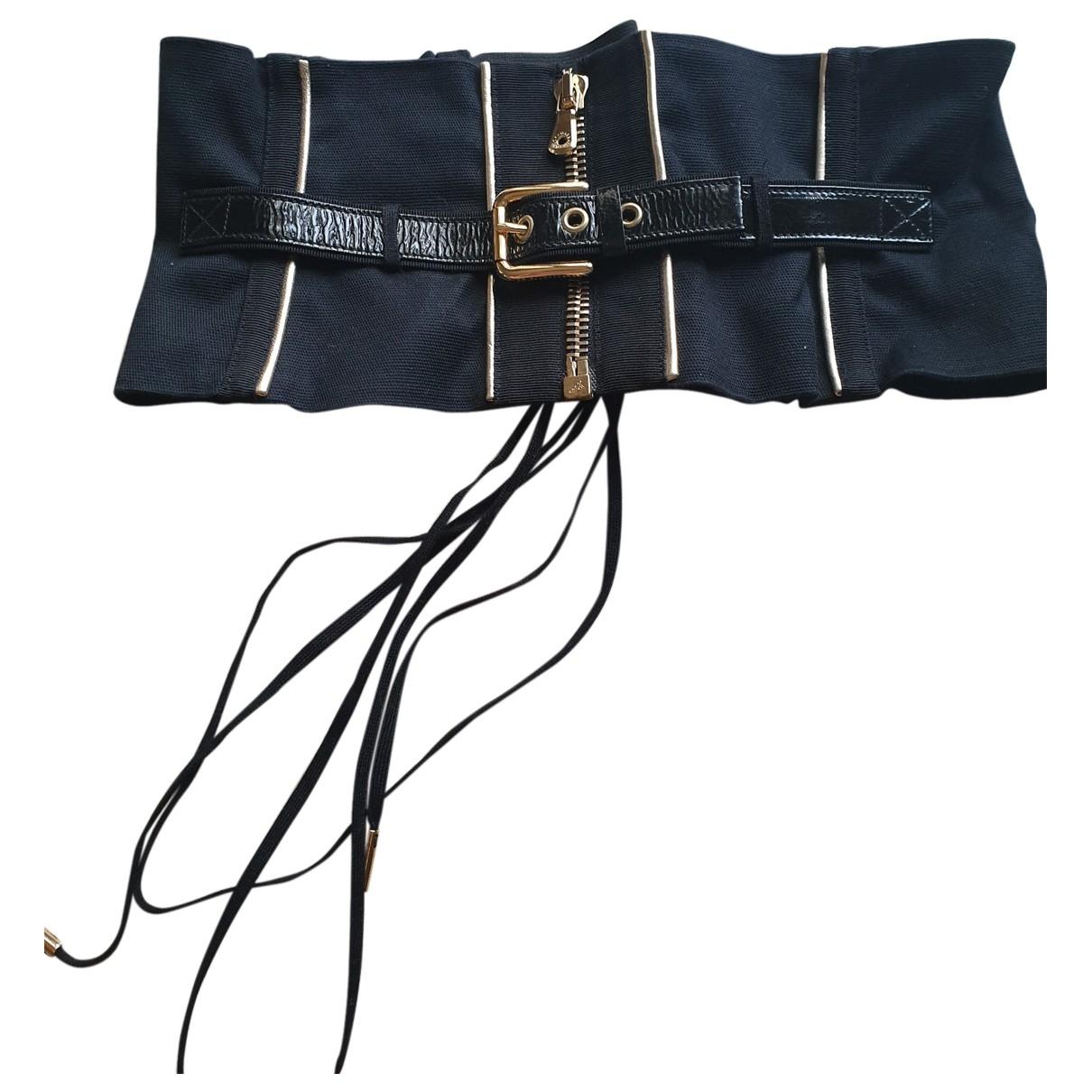 Dolce & Gabbana - Ceinture   pour femme en coton - noir