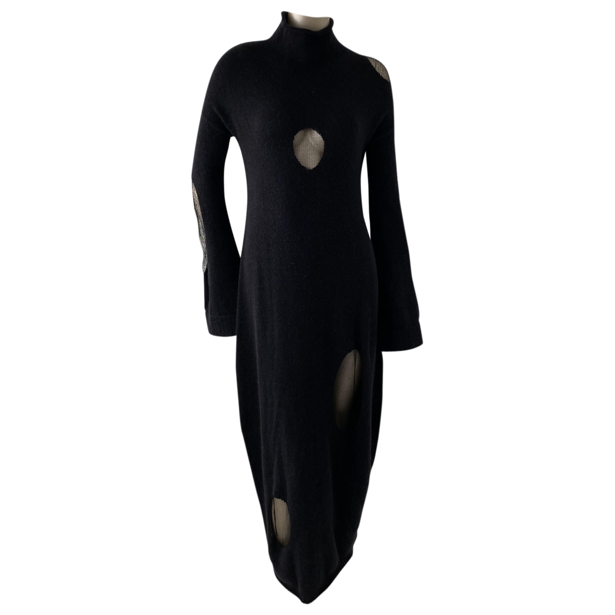 Krizia \N Black Wool dress for Women 40 IT