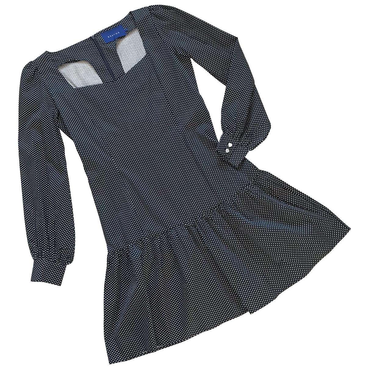 Mini vestido Resume