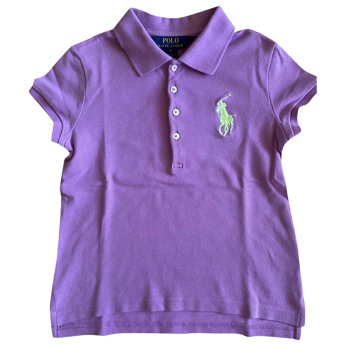 Camisetas en Algodon Violeta Polo Ralph Lauren
