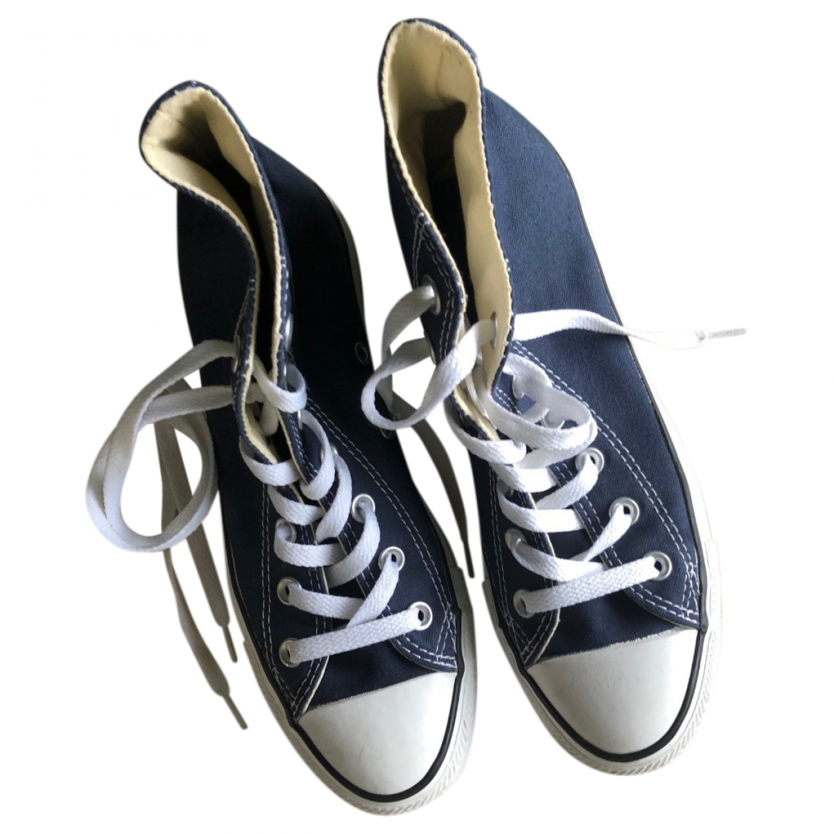 Converse \N Blue Rubber Trainers for Women 38 EU