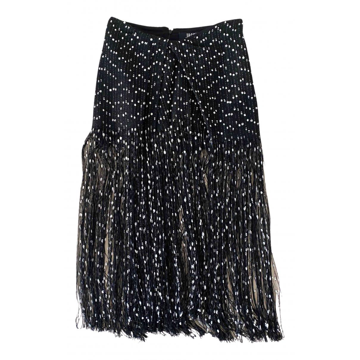 Jacquemus La Riviera Black Cotton skirt for Women 38 FR