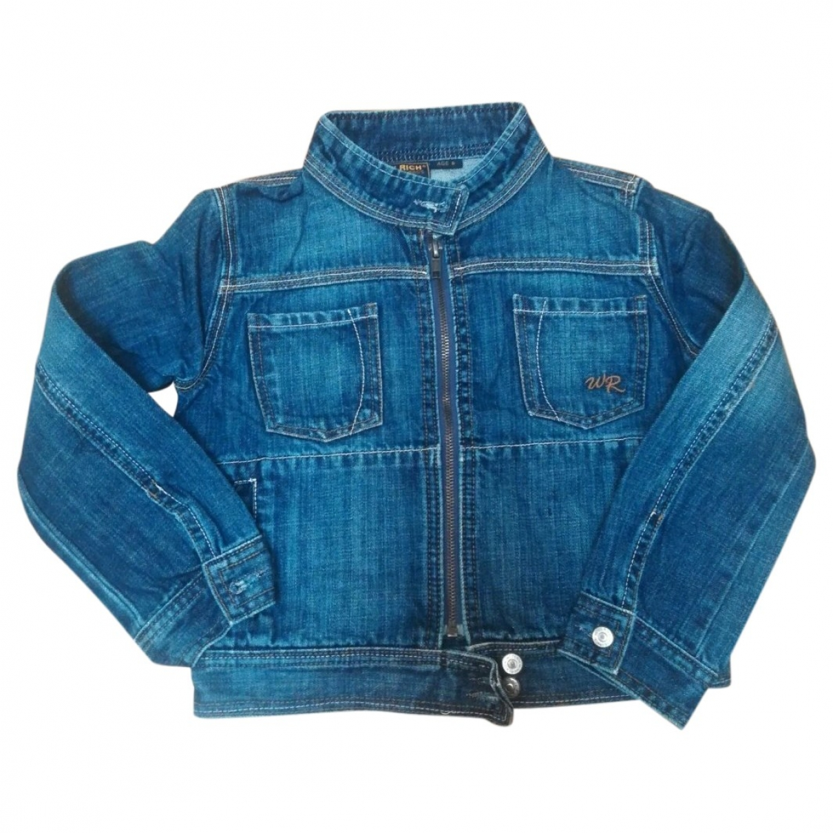 Woolrich \N Blue Denim - Jeans jacket & coat for Kids 6 years - up to 114cm FR