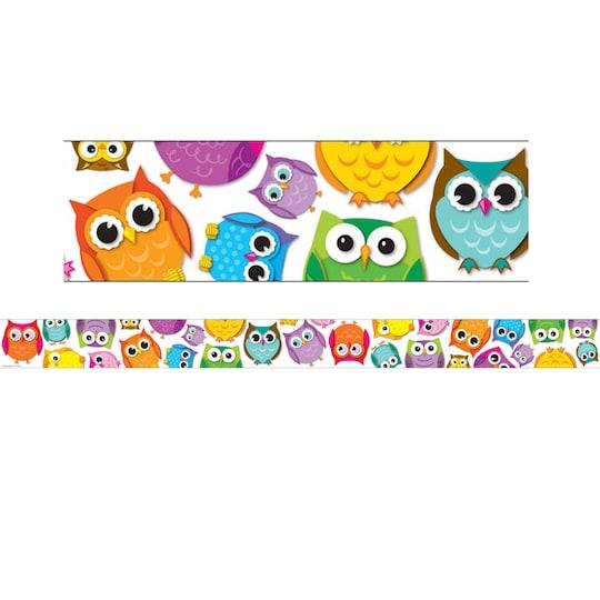 Carson Dellosa Education® Colorful Owls Borders, 216Ft | Michaels®