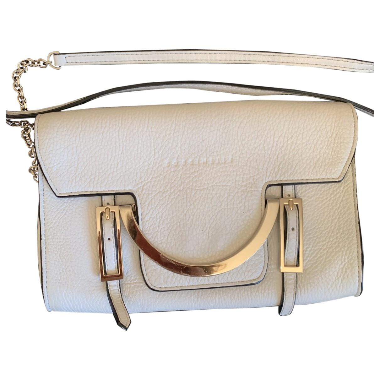 Coccinelle \N White Leather handbag for Women \N