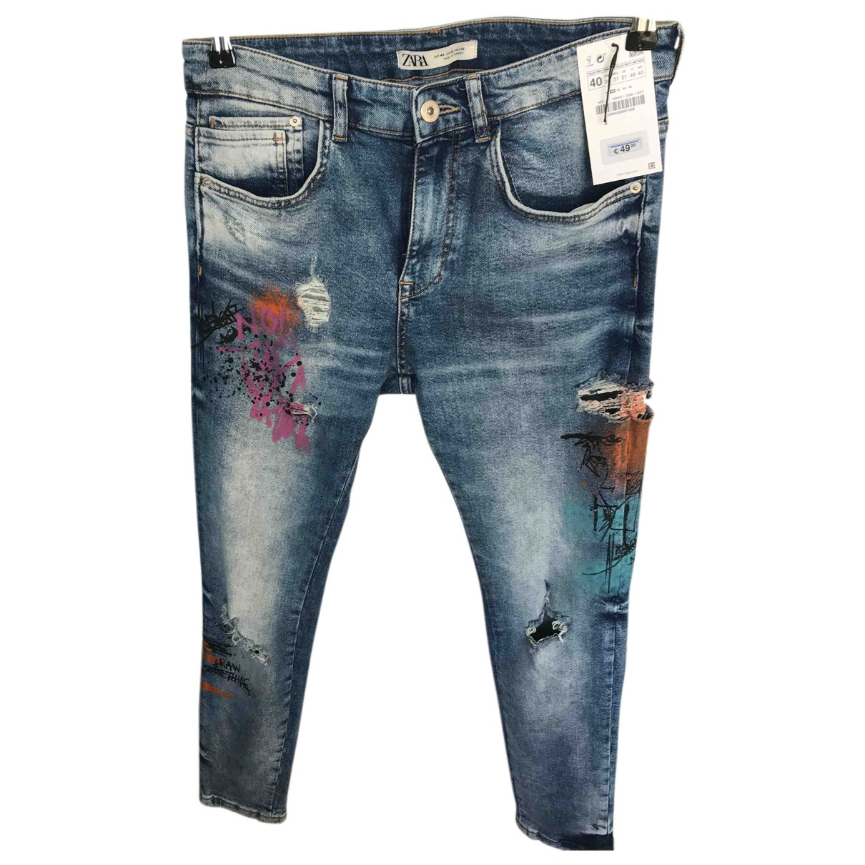 Zara N Multicolour Jeans for Men 40 FR