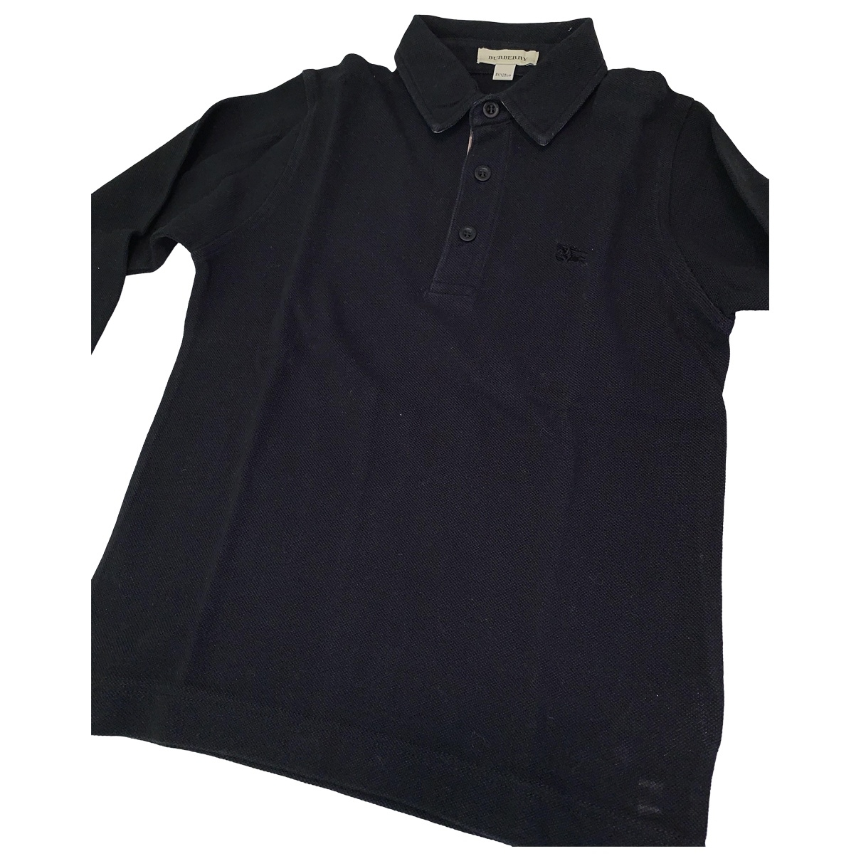 Burberry \N Black Cotton  top for Kids 8 years - until 50 inches UK