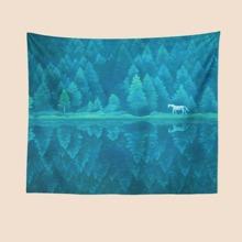 Teppich mit Wald Muster