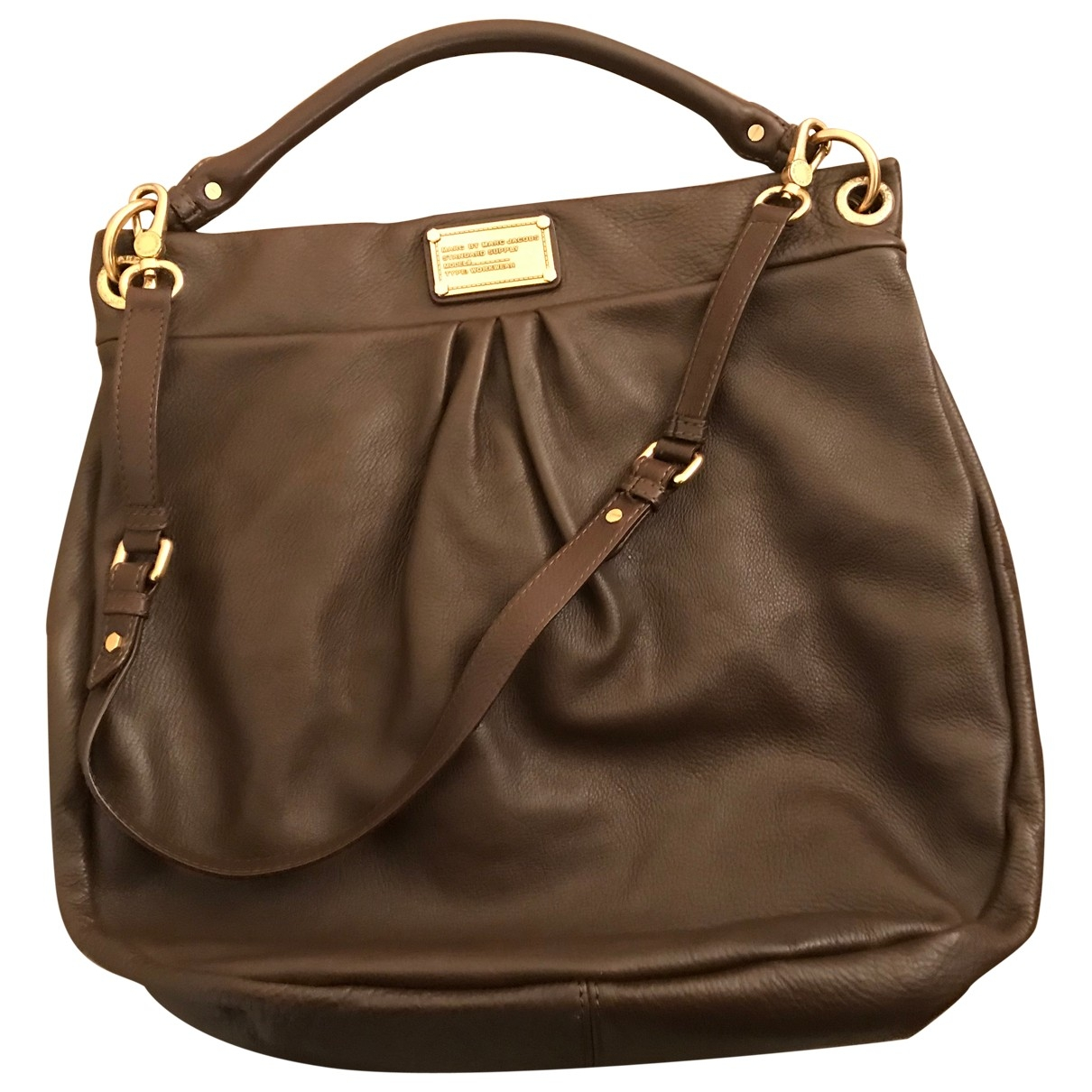 Marc By Marc Jacobs \N Brown Leather handbag for Women \N