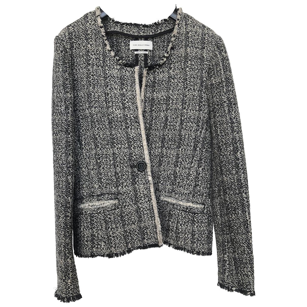 Isabel Marant Etoile \N Beige Wool jacket for Women 38 IT