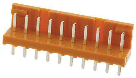 JAE , IL-G, 10 Way, 1 Row, Straight PCB Header (10)