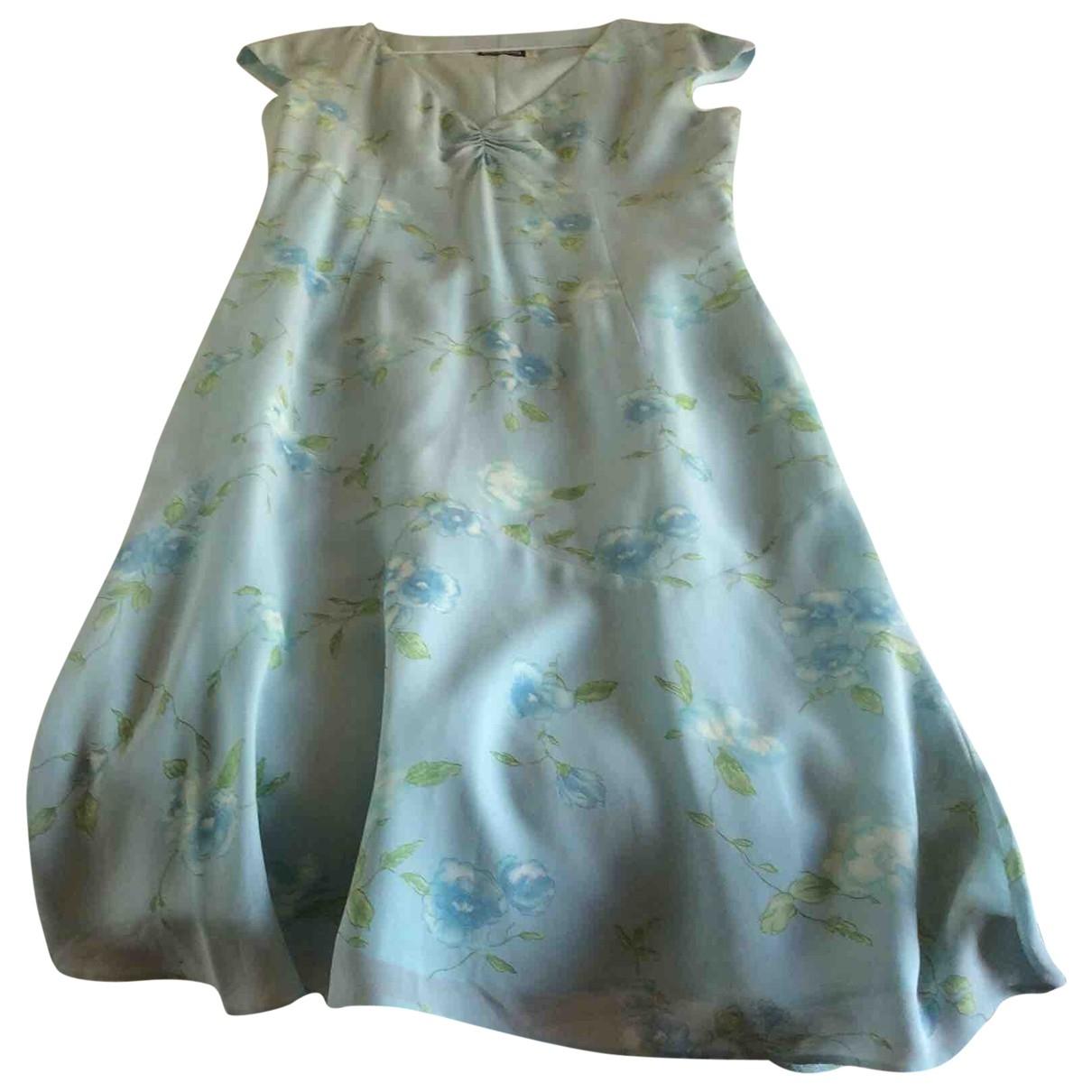 Cacharel \N Kleid in  Blau Viskose