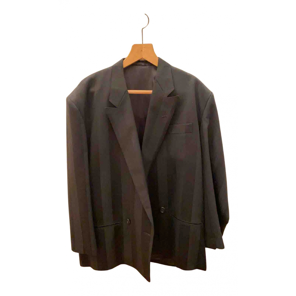 Yohji Yamamoto N Black Wool jacket  for Men M International