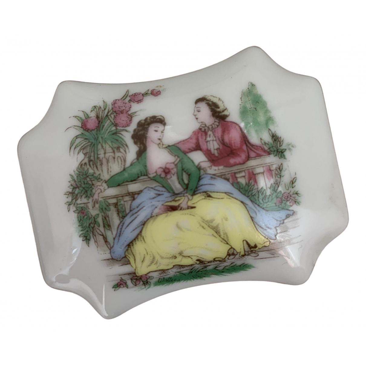 - Objets & Deco   pour lifestyle en porcelaine - blanc