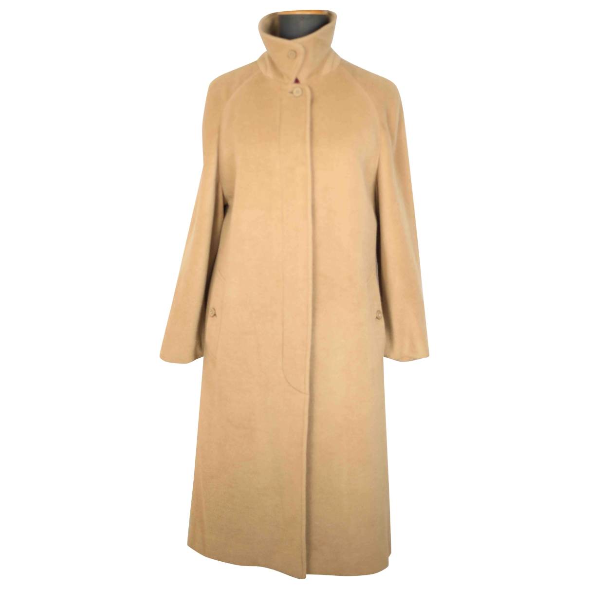 Burberry \N Camel Cashmere coat for Women 46 IT