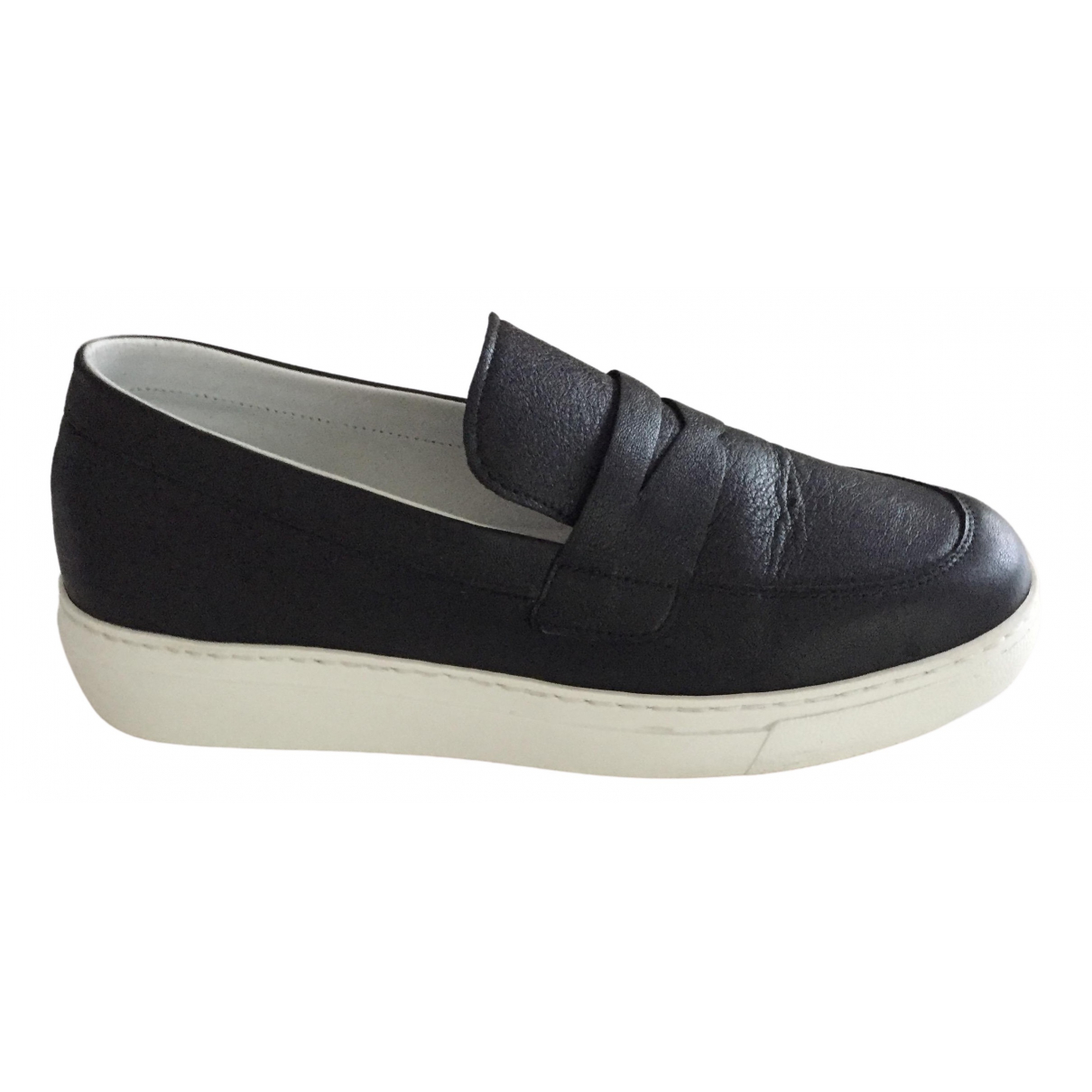 Cop Copine \N Sneakers in  Schwarz Leder