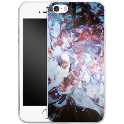 Apple iPhone 5s Silikon Handyhuelle - Macro 3 von Gela Behrmann