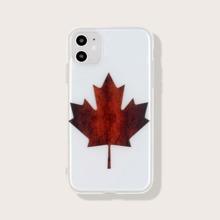 iPhone Schutzhuelle mit Ahornblatt Muster